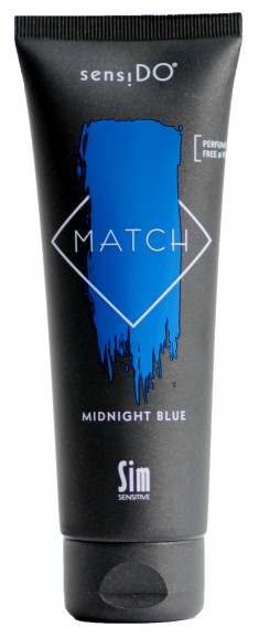 SIM SENSITIVE Краситель прямого действия, синий / SensiDO Match Midnight Blue 125 мл