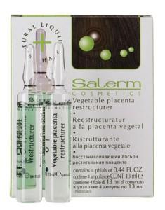 SALERM COSMETICS Лосьон восстанавливающий Растительная плацента / Vegetable Placenta Restructurer 8*(4*13 мл)