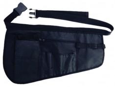 DEWAL PROFESSIONAL Чехол для парикмахерских инструментов на пояс, полимерный материал, черный 43х27 см