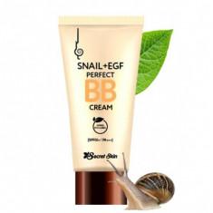 крем-бб с экстрактом улитки secret skin snail + egf perfect bb cream