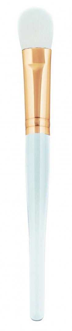 IGROBEAUTY Кисть закругленная, искусственная, белая щетина, диаметр 12 мм, длина 165 мм
