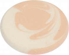 DEWAL BEAUTY Губка для нанесения макияжа, белая/бежевая 55x55x7 мм 2 шт