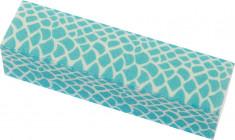 DEWAL BEAUTY Брусок шлифовальный Дикая природа, голубая рептилия, 120/180 грит 9,5x2,5x2,5 см