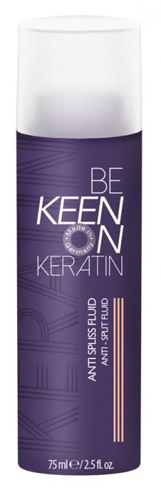 KEEN Флюид с кератином для секущихся волос / KERATIN ANTI SPLISS FLUID 75 мл