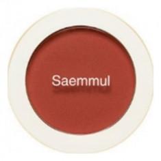Румяна THE SAEM Saemmul Single Blusher OR03 Persimmon Juice 5гр
