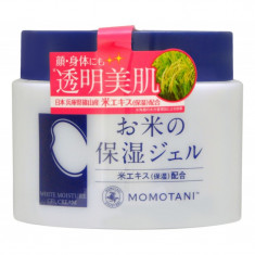 увлажняющий крем с экстрактом риса для лица и тела momotani rice moisture cream