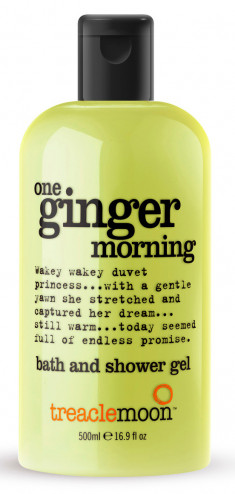 TREACLEMOON Гель для душа Бодрящий имбирь / One ginger morning bath & shower gel 500 мл