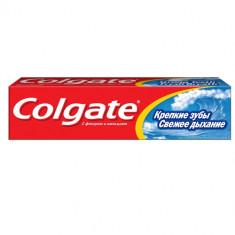 Колгейт Зубная паста Крепкие зубы Свежее дыхание 100мл COLGATE