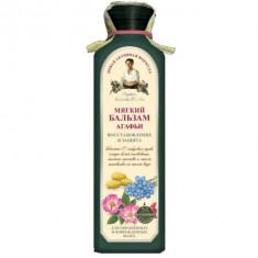 Рецепты Бабушки Агафьи Бальзам для волос Мягкий восстановление и защита для окрашенных и поврежденных волос 350мл