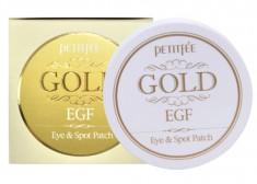 PETITFEE Патчи с коллоидным золотом и EGF для области вокруг глаз и для точечного использвания / Eye patch 60 шт + 30 шт