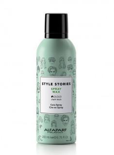 ALFAPARF MILANO Спрей-воск для укладки волос / SPRAY WAX STYLE STORIES 200 мл