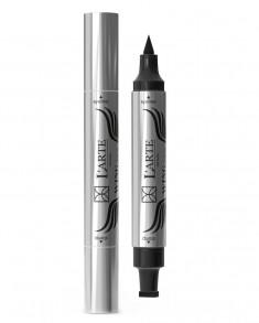 LARTE DEL BELLO Подводка-маркер для век со штампом, чёрная / WING LINER 3,8 г