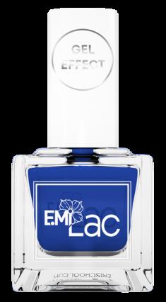 E.MI 041 лак ультрастойкий для ногтей, Настоящий синий / E.MiLac Gel Effect 9 мл