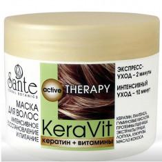 Sante Маска для волос интенсивное восстановление и питание KeraVit 300мл