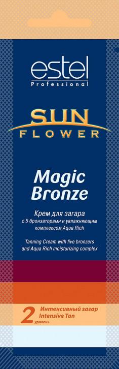 ESTEL PROFESSIONAL Крем для загара / Sun Flower Magic Bronze 15 мл
