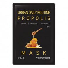 маска тканевая с прополисом jungnani jnn-ii urban daily routine propolis mask