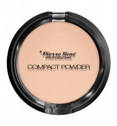 PIERRE RENE Пудра компактная тональная с натуральными маслами для сухой кожи 03 / Compact Powder 8 г PIERRE RENE PROFESSIONAL