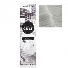MATRIX Крем-краситель с пигментами прямого действия для волос, серебро диско / SOCOLOR CULT 118 мл