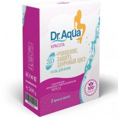 Dr.Aqua Соль Морская ароматная с микроэлементами Череда Dr.Aqua 500г (2 фильтр-пакета)