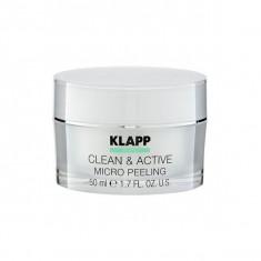 Klapp Микропилинг CLEAN&ACTIVE Micro Peeling 50мл