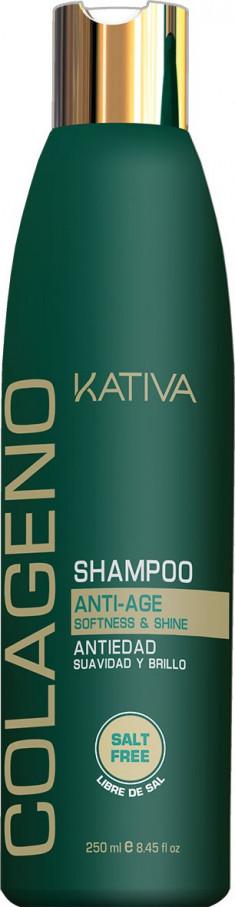 KATIVA Шампунь коллагеновый для волос / COLLAGENO 250 мл
