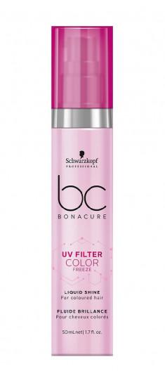 SCHWARZKOPF PROFESSIONAL Сыворотка для блеска / BC UV Filter Color Freeze 50 мл