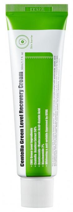 PURITO Крем успокаивающий с центеллой для восстановления кожи / Centella Green Level Recovery Cream 50 мл