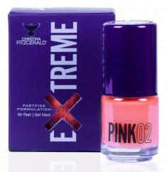 CHRISTINA FITZGERALD Лак для ногтей 02 / PINK EXTREME 15 мл