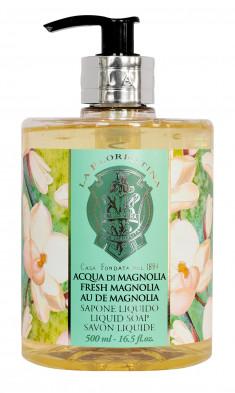 LA FLORENTINA Мыло натуральное жидкое, свежая магнолия / Fresh Magnolia 500 мл