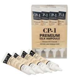 ESTHETIC HOUSE Сыворотка несмываемая с протеинами шелка для волос / CP-1 Premium Silk Ampoule 4*20 мл