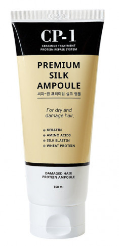 ESTHETIC HOUSE Сыворотка несмываемая с протеинами шелка для волос / CP-1 Premium Silk Ampoule 150 мл