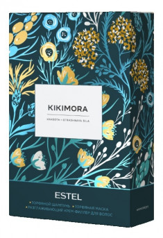 ESTEL PROFESSIONAL Набор для волос (шампунь 250 мл, маска 200 мл, разглаживающий филлер 100 мл) / KIKIMORA