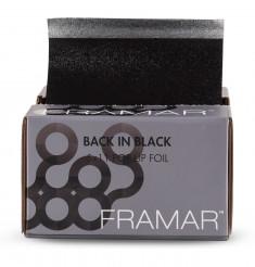 FRAMAR Фольга с тиснением вытяжная, черная / Pop Ups Back In Black 12,5*28 см, 500 листов