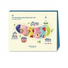 подарочный набор кремов для рук традиционный сеул frudia analogue seoul my orchard hand cream gift set