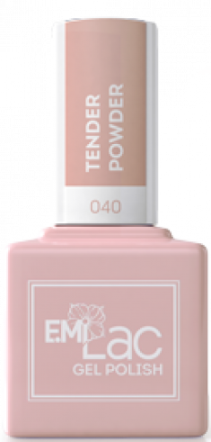 E.MI 040 SE гель-лак для ногтей, Нежная пудра / E.MiLac Shades of Elegance 9 мл