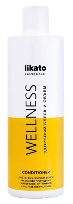 LIKATO PROFESSIONAL Бальзам-кондиционер для жирных волос / WELLNESS 400 мл
