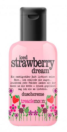 TREACLEMOON Гель для душа Клубничный смузи / Iced strawberry dream Bath & shower gel 60 мл