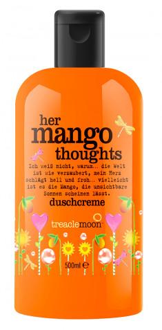 TREACLEMOON Гель для душа Задумчивое манго / Her Mango thoughts Bath & shower gel 500 мл