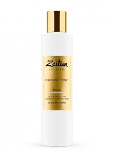 ZEITUN Тоник очищающий против несовершенств для комбинированной и жирной кожи с серебром / Niqa 200 мл