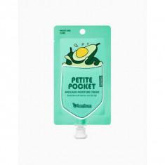 крем для тела с экстрактом авокадо berrisom petite pocket avocado moisture cream