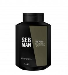 SEB MAN Шампунь очищающий для волос / THE PURIST 250 мл