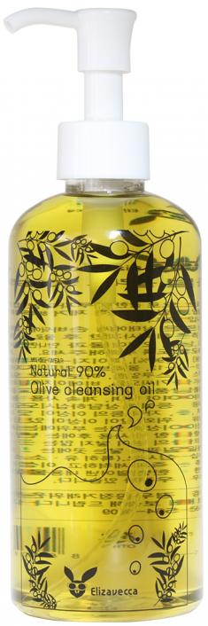 ELIZAVECCA Масло гидрофильное с маслом оливы / Natural 90% Olive Cleansing Oil 300 мл