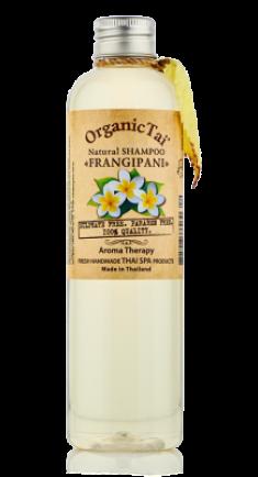 Шампунь безсульфатный с маслом франжипани ORGANIC TAI Natural Shampoo Frangipani 260 мл