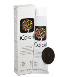 KAYPRO 4 краска для волос, коричневый / ICOLORI 100 мл
