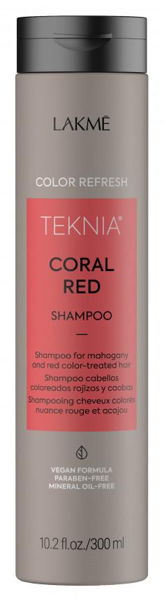 LAKME Шампунь для обновления цвета красных оттенков волос / REFRESH CORAL RED SHAMPOO 300 мл