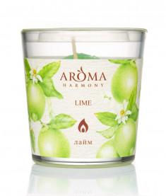 AROMA HARMONY Свеча ароматическая Лайм 160 г