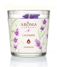AROMA HARMONY Свеча ароматическая Лаванда 160 г
