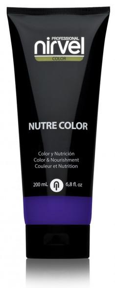 NIRVEL PROFESSIONAL Гель-маска питательная, цвет ежевика / NUTRE COLOR BLACKBERRY 200 мл