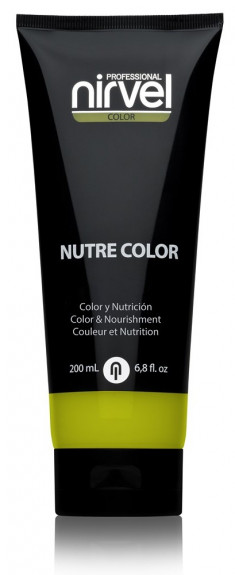 NIRVEL PROFESSIONAL Гель-маска питательная, цвет лимон / NUTRE COLOR LEMON 200 мл