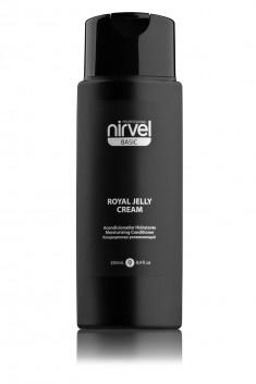 NIRVEL PROFESSIONAL Кондиционер увлажняющий с пчелиным маточным молочком для окрашенных волос / ROYAL JELLY CREAM 250 мл